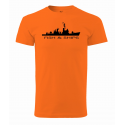 Tričko Fish&Ships (UNISEX)
