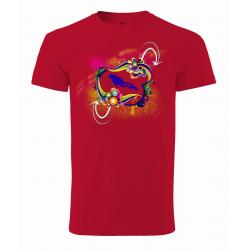 Tričko Potápěč v abstrakci (UNISEX)