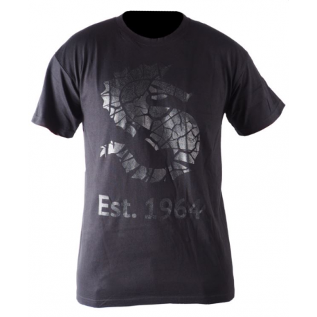 Ursuit - tričko SEAHORSE černé unisex