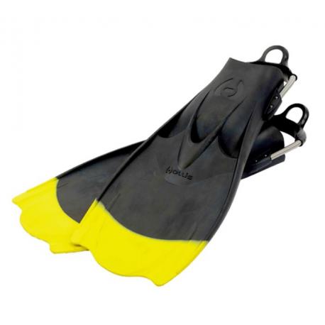 Hollis - ploutve F1-BAT yellow tip