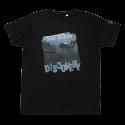 DiveFashion - tričko DISCOVERY modrý detail