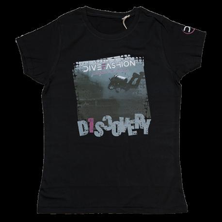 DiveFashion - tričko DISCOVERY dámské